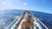 အတ္တလန်တိတ် သမုဒ္ဒရာကို လှေလှော်ပြီး ဖြတ်ကူးဖို့ ကြိုးစားနေကြသူများ