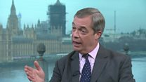 Farage: Ex-Brexit Party MEPs 'are wrong'