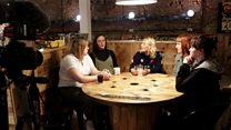 Pie and politics with 'girl squad' Sheesiders