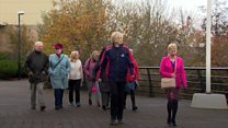 Carers getting a 'lifeline' by walking it off