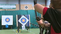 Firing arrows when you're deafblind