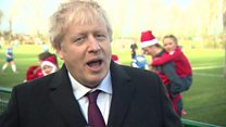 Boris Johson says leaked documents are a 'distraction'