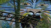 Restoring the theme park abandoned for 20 years