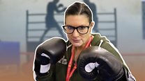 Packing a punch: Female boxers spar with politics