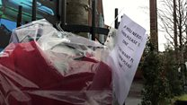 Warm clothes being left for Belfast's homeless