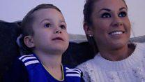 Boy, 6, cancer free after brain tumour battle