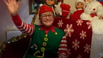Festive gran finds old Christmas habits die hard