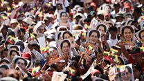 Why people are defending Myanmar's divisive leader