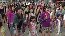 Las Tesis feminist protest song goes global