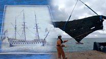 'Revolutionary' 18th century naval ship revealed