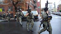 Sounds of gunfire fill Jersey City streets
