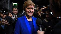Sturgeon: Indyref 2 mandate strengthened