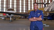 'I wanted to break into white, male aviation industry'