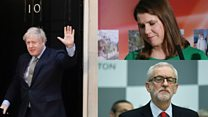 Key moments from election results day