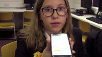 Pupils design app to help deaf children in lessons