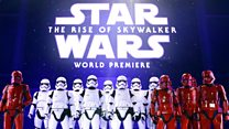 Star Wars stars out in force for world premiere