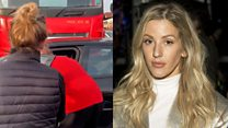 Ellie Goulding speaks about 'T-boned' driver