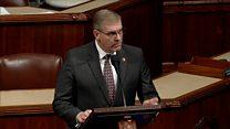 Republican compares impeachment to Jesus' trial