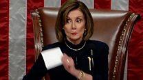 شاهد كيف نهت نانسي بيلوسي الديمقراطيين عن التصفيق
