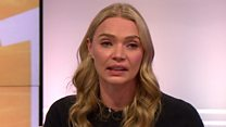 Jodie Kidd: Press weight abuse fuelled my anxiety