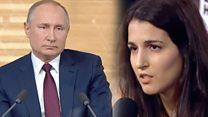 Би-би-си спросила Путина о его дочерях. Он ушел от ответа
