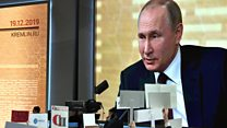 Главные вопросы на пресс-конференции Владимира Путина. Видео