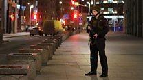 Gunshots heard at Russia's security services HQ