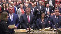 MPs approve Brexit deal