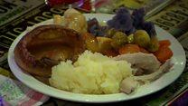 Feeding thousands a Christmas dinner