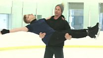 Same-sex skaters to make UK TV history