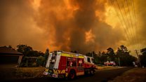 'Catastrophic' conditions fuel Australia wildfires