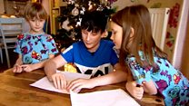 Braille letter helps keep Christmas magic alive