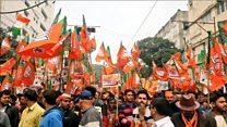 नागरिकता कानून के समर्थन में बंगाल में बीजेपी की रैली