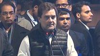 राहुल गांधी ने मोदी-शाह पर उठाए सवाल, सूट पर कसा तंज