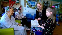 Girl uses pocket money for hospital presents