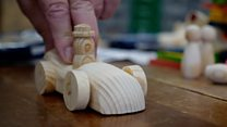 The woodworker sending toys around the world