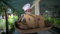 The bakery in a mental health hospital