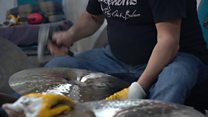 The craft of making cymbals