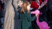 Royals attend Christmas Day church services