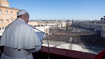 Pope speaks out against 'injustices'