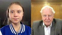 When Greta Thunberg met Sir David Attenborough