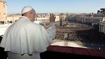 教皇方济各圣诞讲话为不公义发声