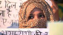 દિલ્હીની રૅકર્ડ બ્રેક ઠંડીમાં મહિલાઓના ધરણા