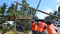 Clean up starts after deadly storm hits Philippines