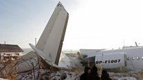 Deaths as plane crashes near Kazakhstan airport