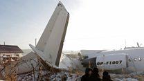 Kazakhstan crash: 'The plane started swaying'