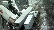Five dead and 60 injured in Pennsylvania pile-up