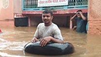 महाराष्ट्र केसरी : पुराच्या संकटाला चितटप करणारे कोल्हापुरातील कुस्तीपटू - पाहा व्हीडिओ