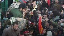 Irani, abarenga 30 bapfuye bagiye gufuba Soleimani