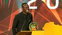 Mane wins African men's player of the year